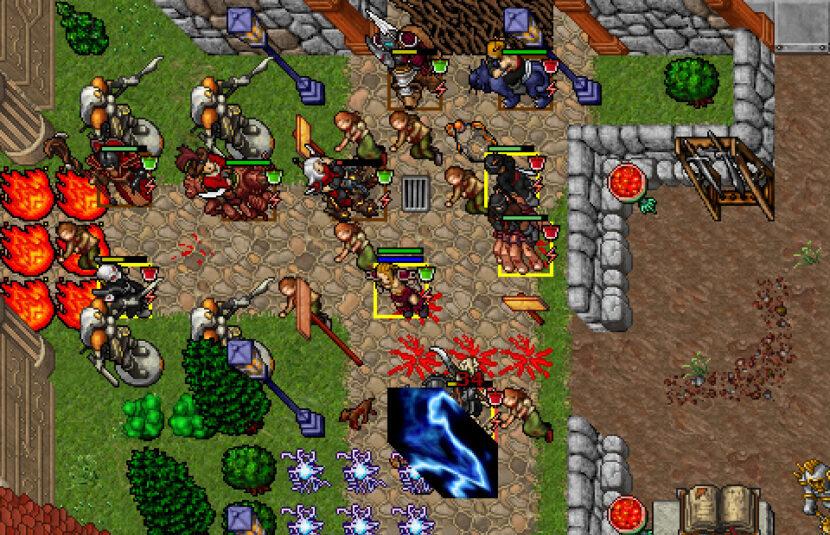 Tibia игра онлайн