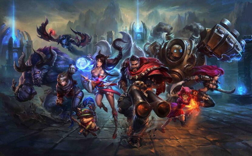 League of Legends игра
