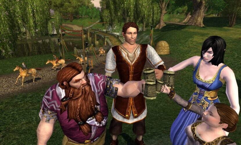 The Lord of the Rings Online игра