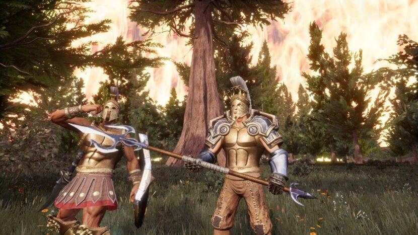 Zeus ' Battlegrounds