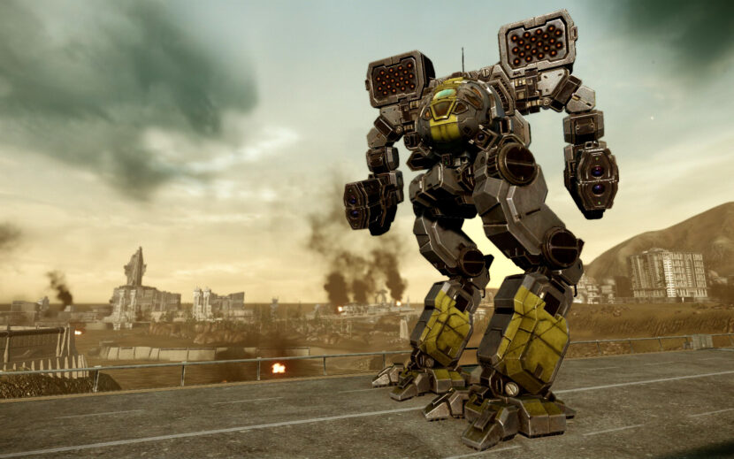 MechWarrior Online игра на пк