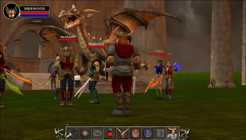 Sherwood Dungeon игра