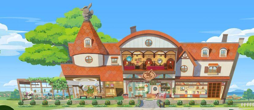 Pokémon Café Mix игра