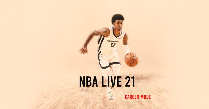 игра NBA Live 21