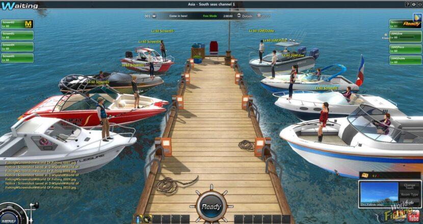 World of Fishing игра