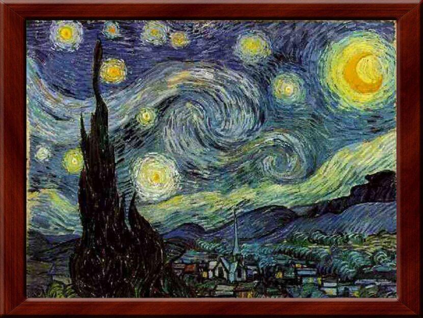Винсент Ван Гог - Звездная ночь