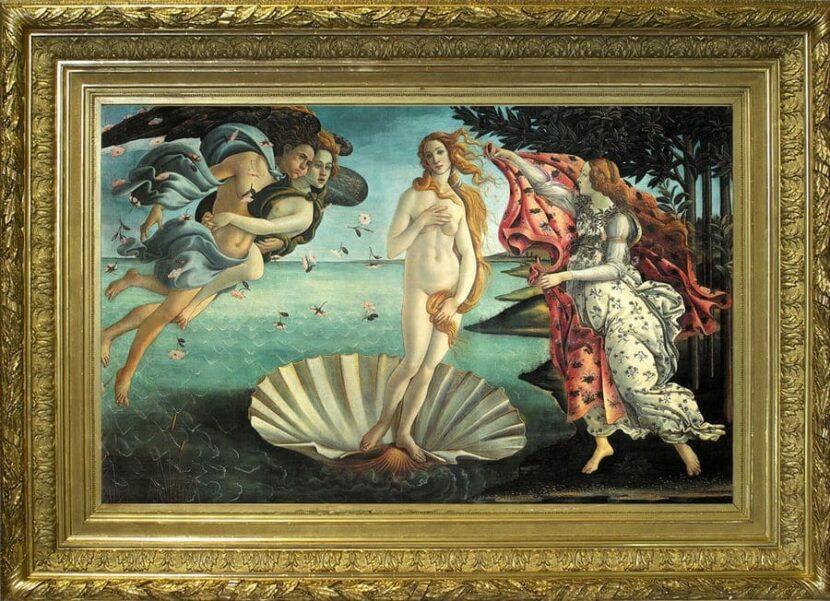 Сандро Боттекелли - Рождение Венеры