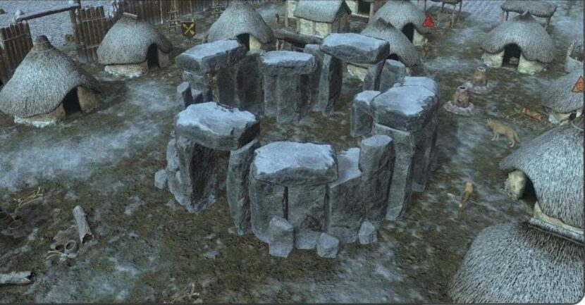 каменные сваи