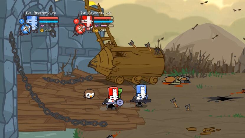 игра Castle Crashers