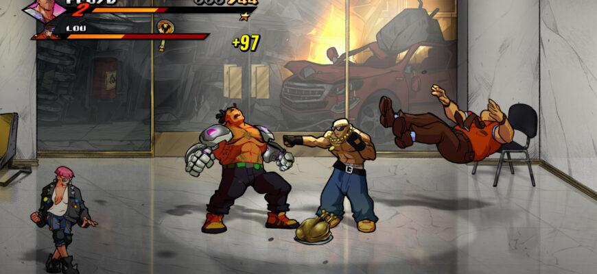 игра Streets of Rage 4